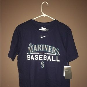 Nike Dri Fit Seattle Mariners Practice Tee NWT